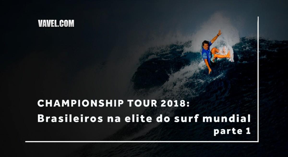 Championship Tour 2018: conheça os brasileiros que fazem parte da elite do surfe mundial - parte 1