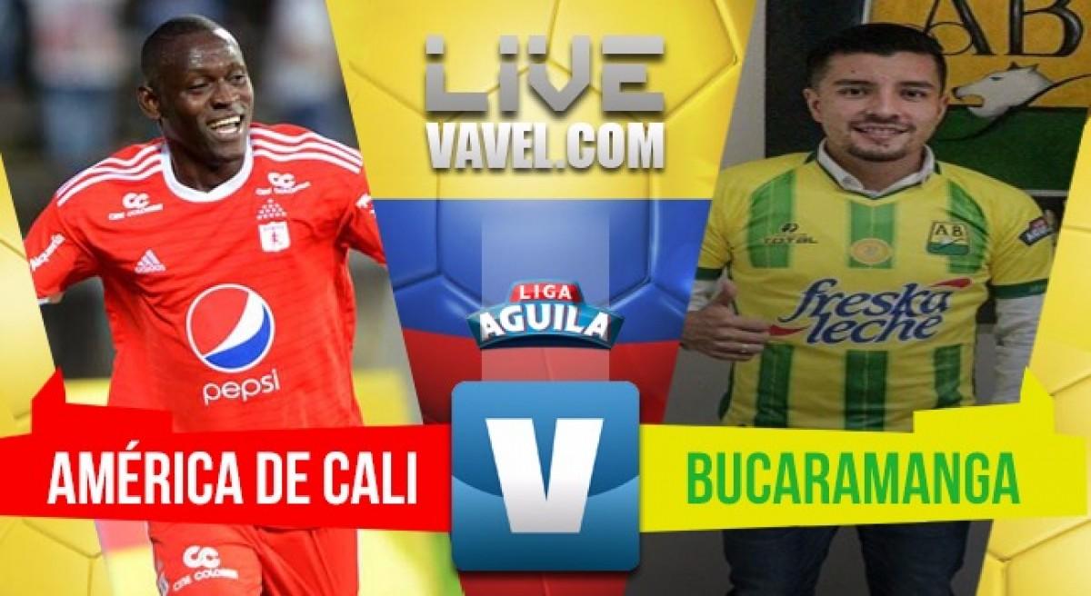 América ganó con sufrimiento al Atlético Bucaramanga (2-1)