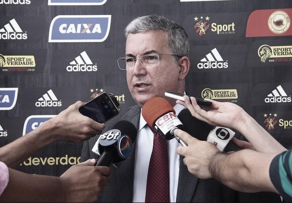 Arnaldo Barros esclarece situação financeira e mantém posição sobre participação do Sport no Nordestão