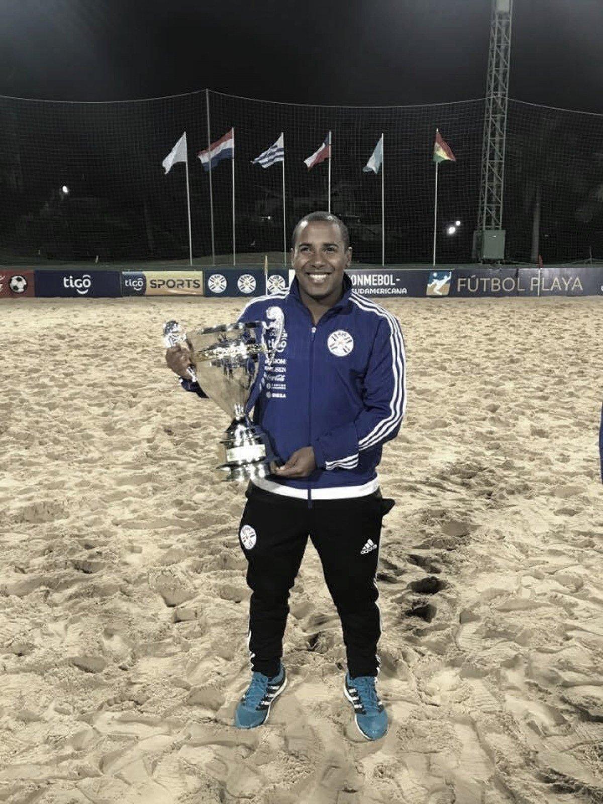 Conheça a história de Hugo Leonardo, Pernambucano que integra a Comissão Técnica do Paraguai de Beach Soccer