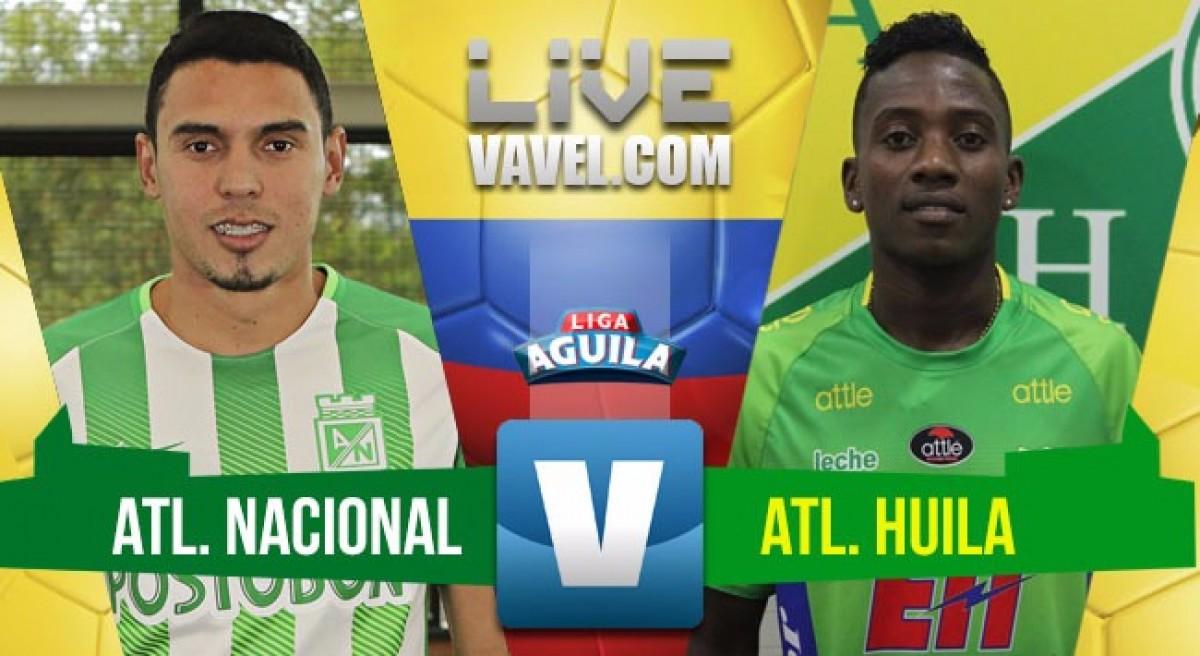 Atlético Nacional ganó por la mínima diferencia y se mantiene en el liderato de la tabla (1-0)