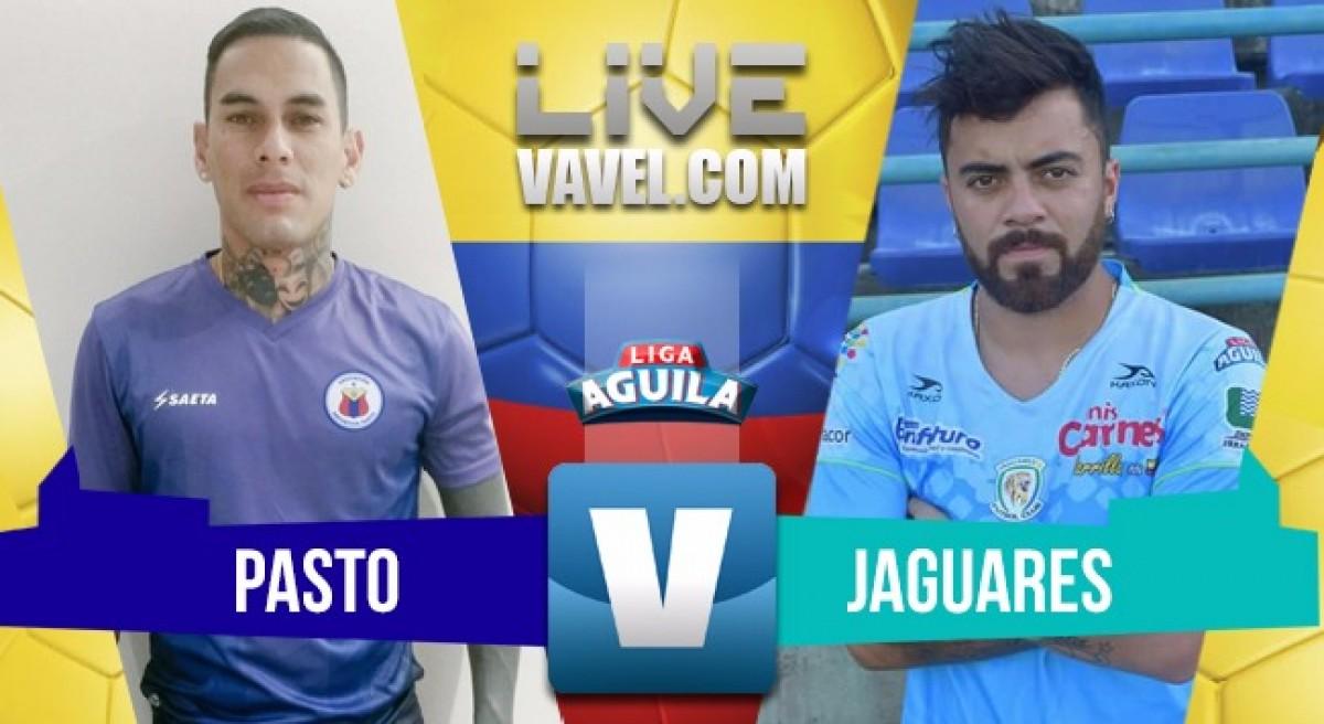 Deportivo Pasto vs Jaguares FC en vivo y en directo online por la Liga Águila 2018-1 (0-1)