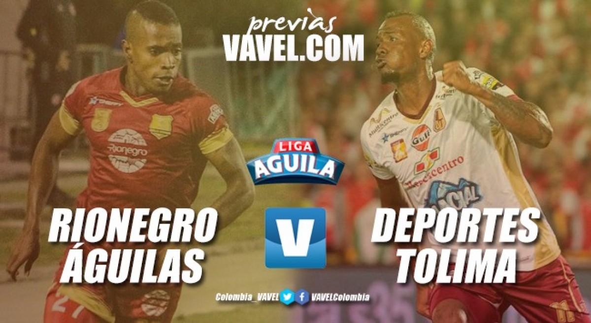 Rionegro Águilas vs Deportes Tolima: necesidades diferentes