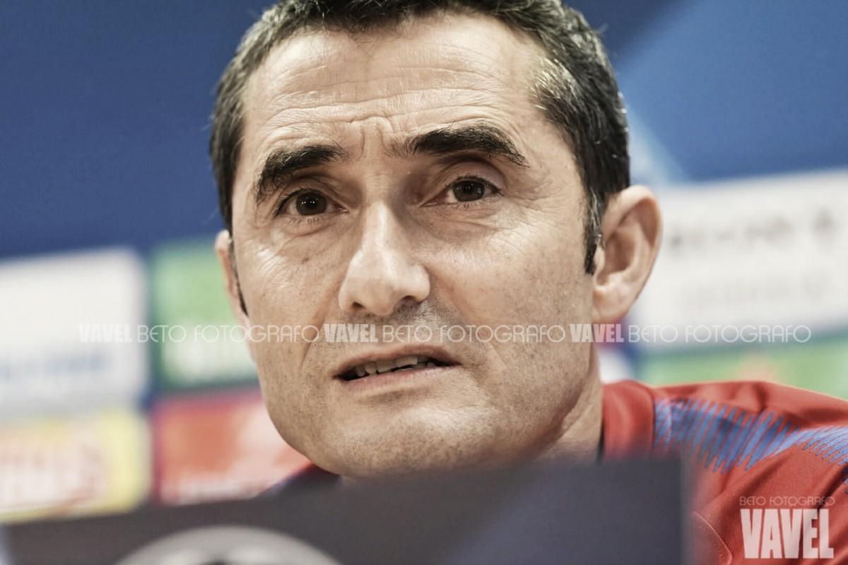 """Ernesto Valverde: """"Me preocupan muchas cosas de la Roma"""""""