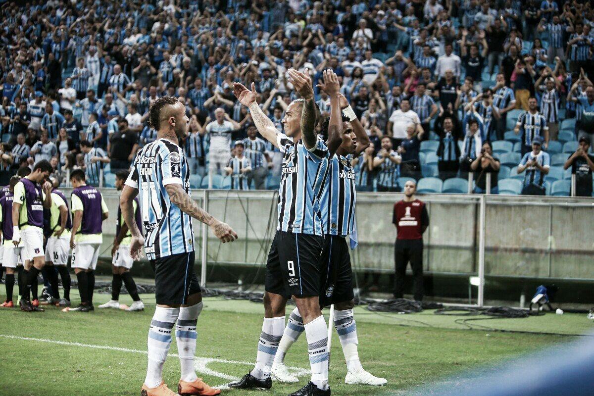 Antes da final do Gauchão, Grêmio goleia Monagas pela Libertadores