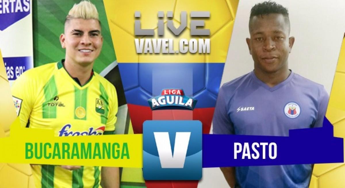Atlético Bucaramanga vs Deportivo Pasto en vivo online por la Liga Águila 2018 (3-1)