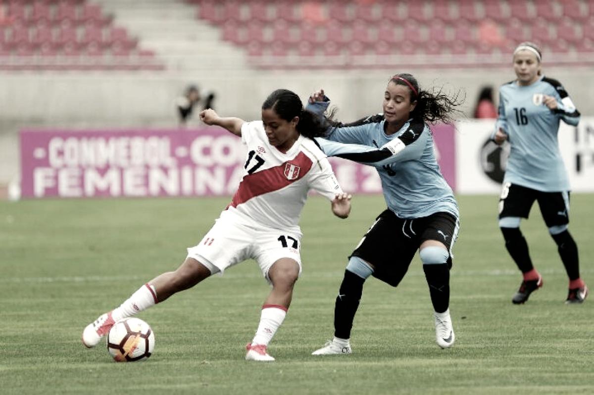 Em jogo morno, Uruguai e Peru empatam pela Copa América Feminina