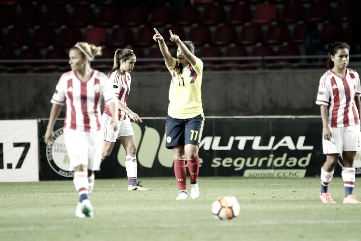 Em duelo pela liderança, Colômbia goleia Paraguai na Copa América Feminina