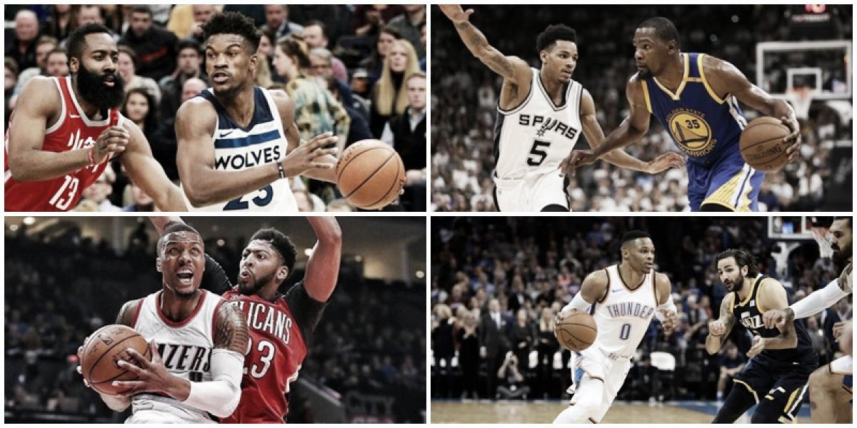 NBA Playoffs: análise da primeira rodada da Conferência Oeste