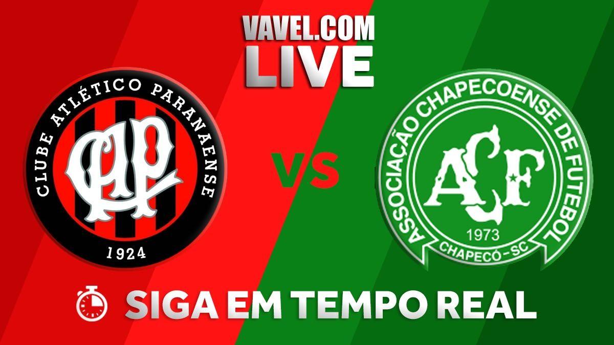 Resultado Atlético-PR e Chapecoense no Brasileirão (5-1)
