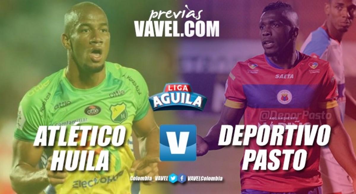 Previa Atlético Huila vs Deportivo Pasto: ocho puntos de diferencia entre los enfrentados