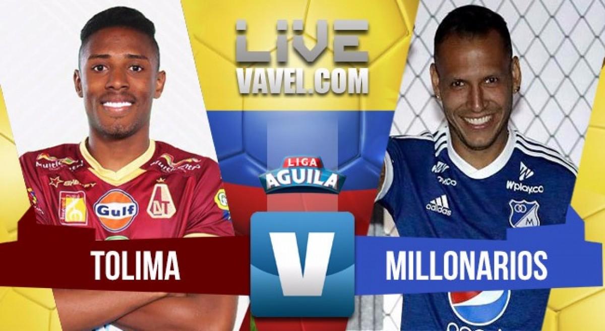Deportes Tolima venció a Millonarios y aseguró su cupo en siguiente ronda (1-0)