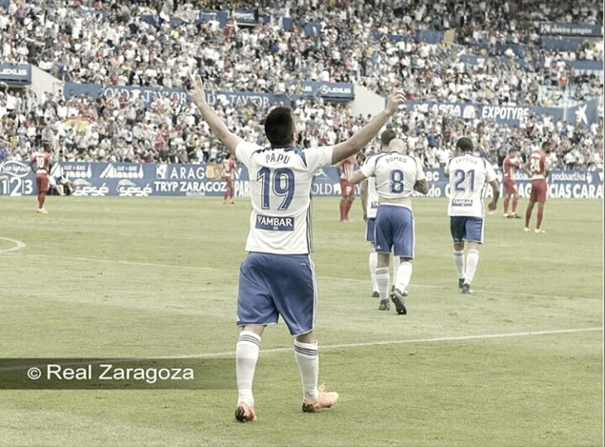 Giorgi Papunashvili, el mejor frente al Almería según la afición