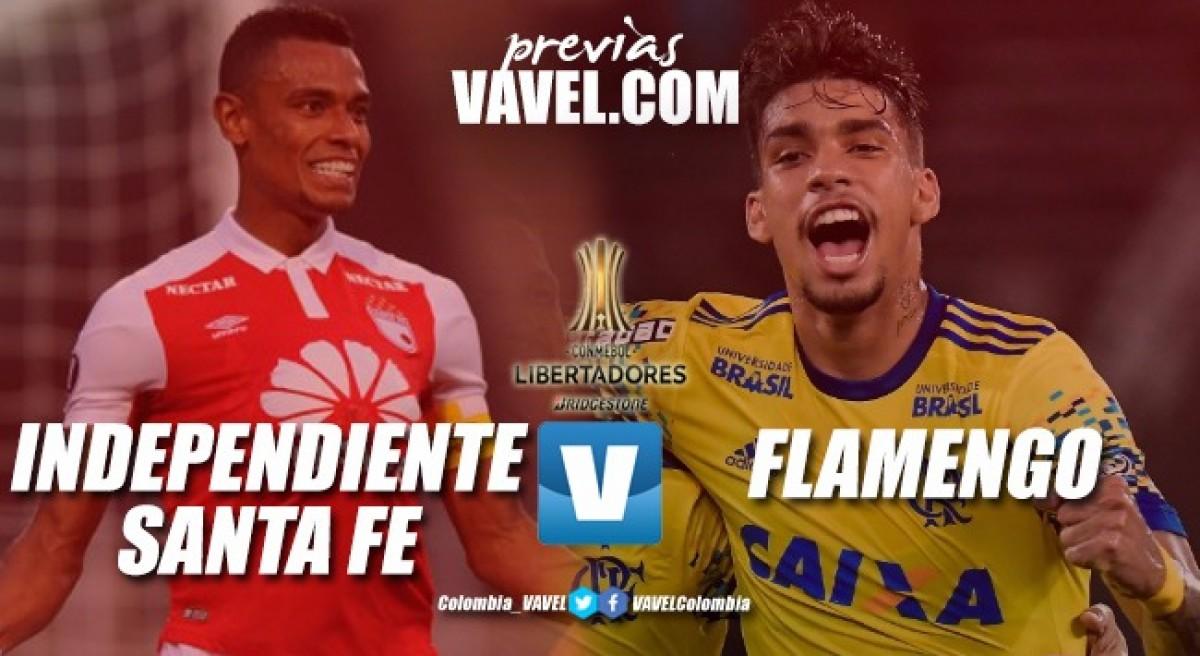Santa Fe buscará su primera victoria ante Flamengo