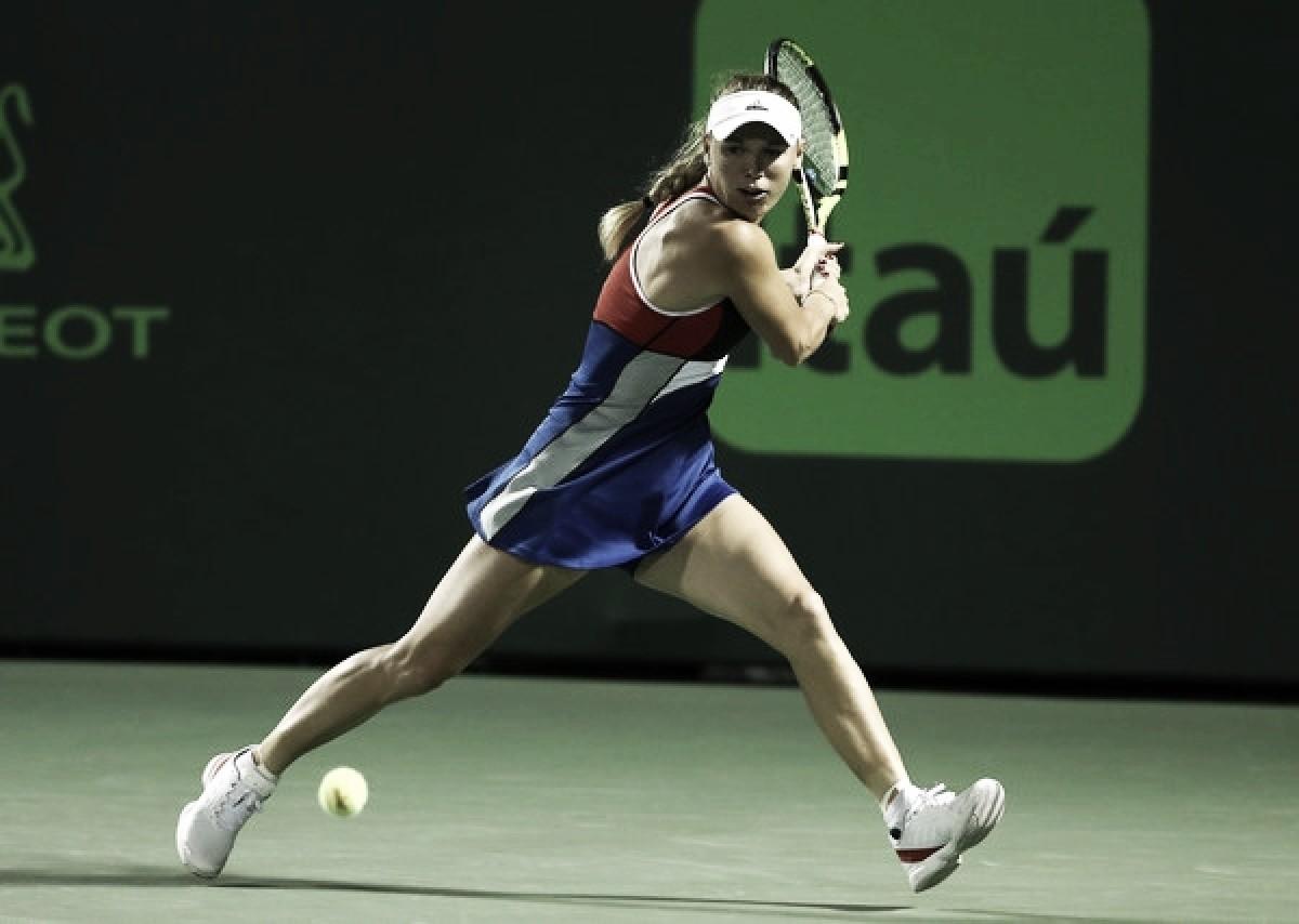 Caroline Wozniacki aprueba el examen de Sara Errani