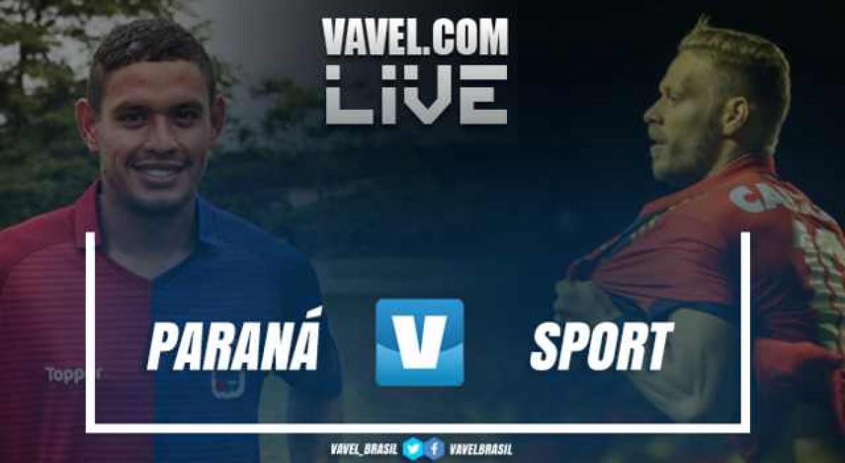 Resultado Paraná x Sport no Campeonato Brasileiro 2018 (1-2)
