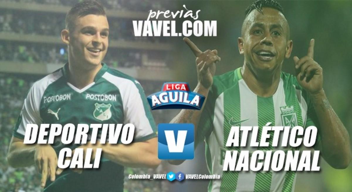 Previa Deportivo Cali vs. Atlético Nacional: Se define la clasificación para los 'azucareros'