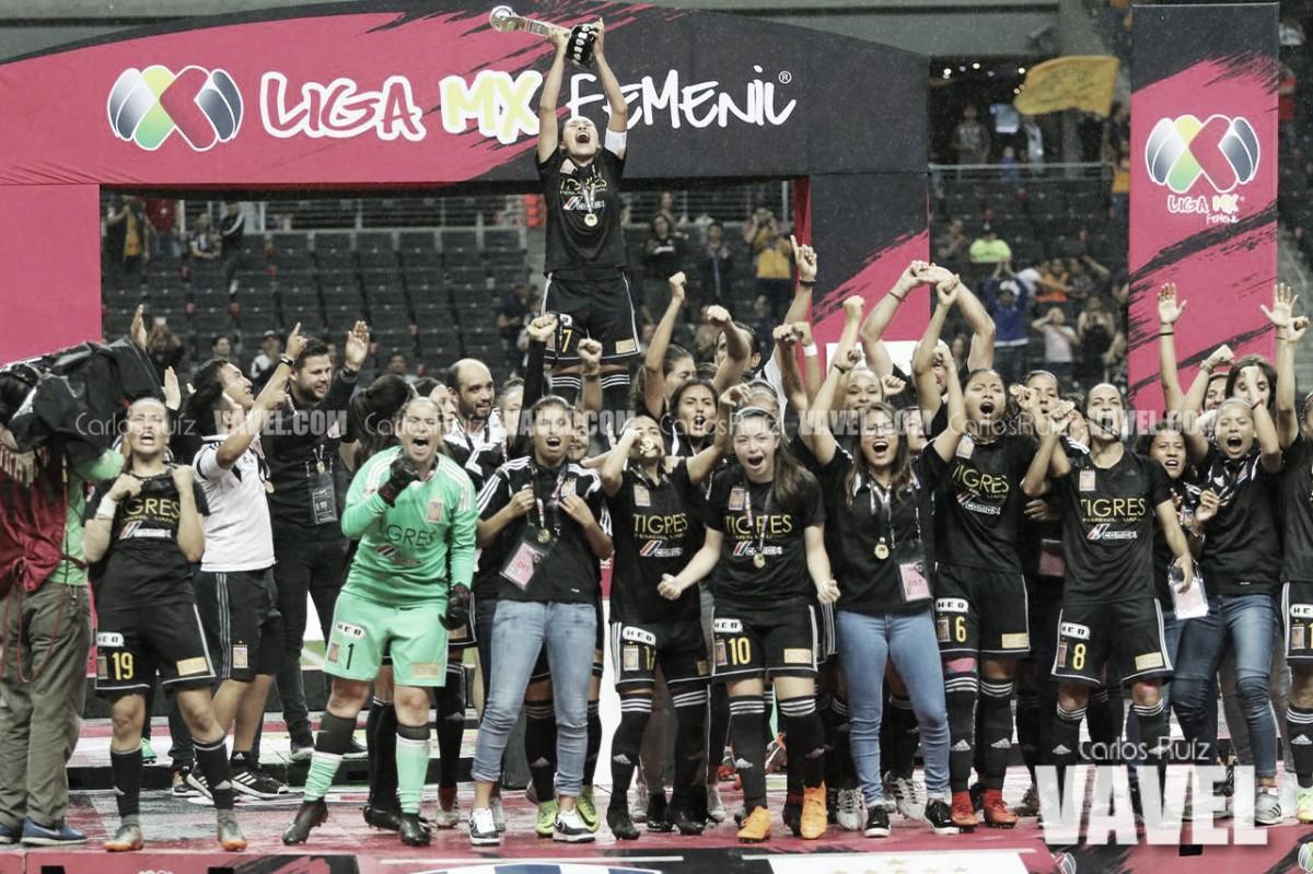 Con auténtico drama, Tigres es Campeón en la Liga Femenil