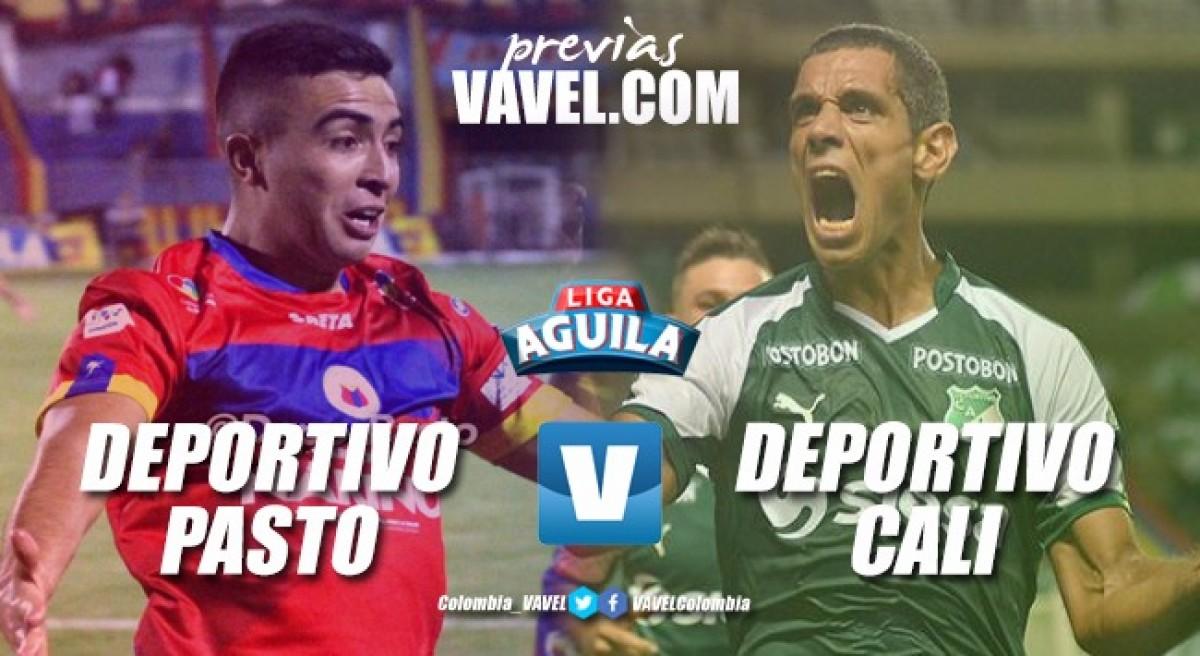 Deportivo Pasto vs. Deportivo Cali: En el sur, los 'verdiblancos' se juegan la vida