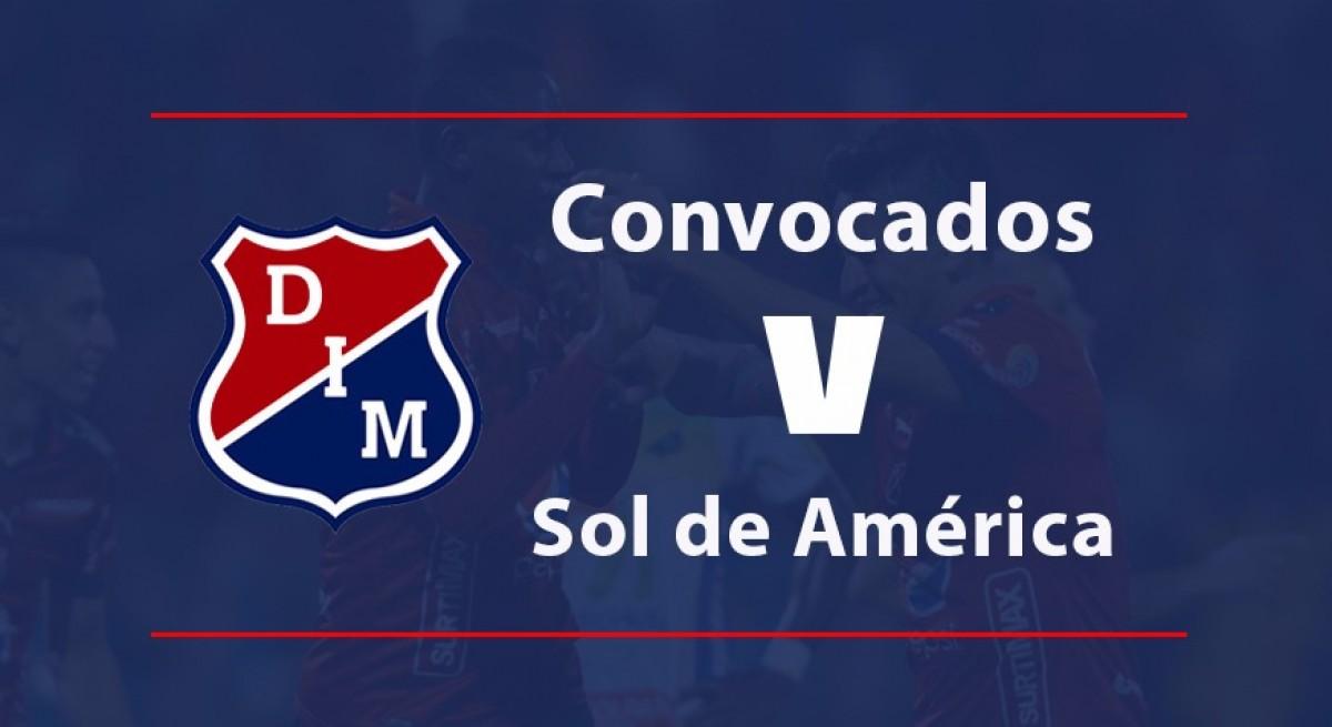 Independiente Medellín, listo para recibir a Sol de América