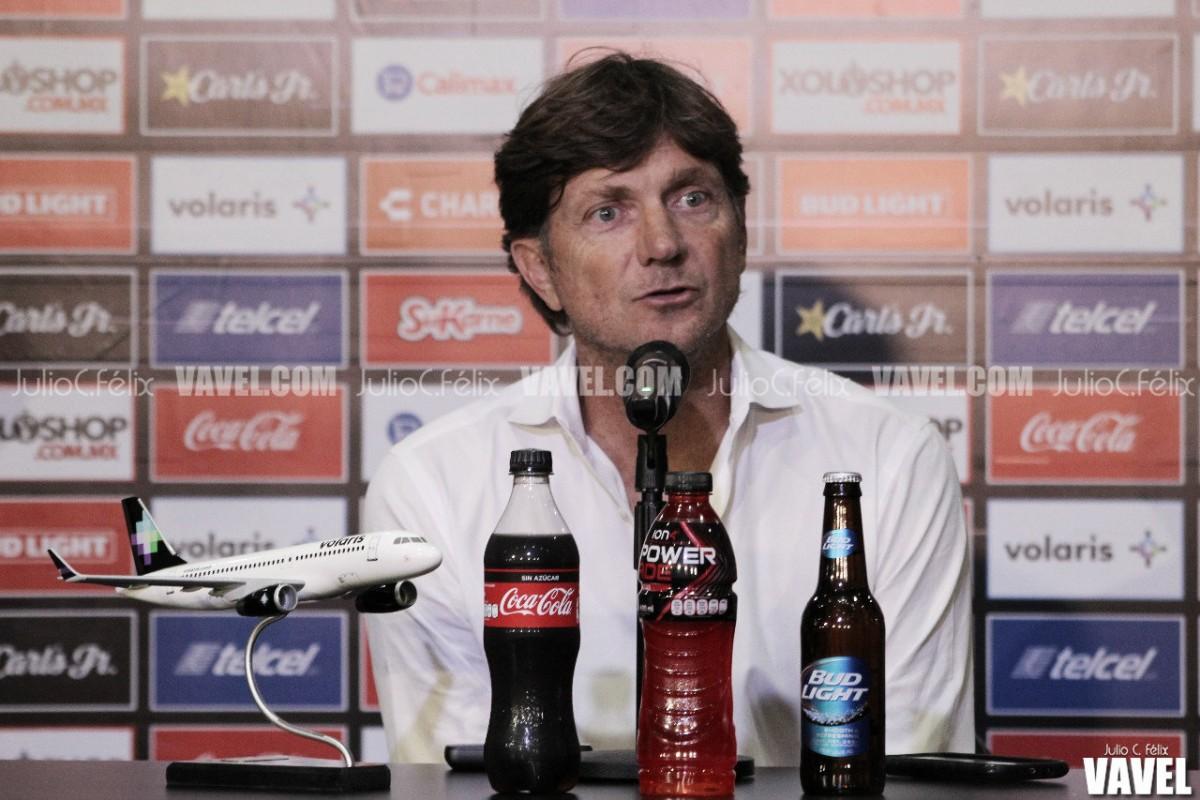 """Hernán Cristante: """"El equipo no bajará los brazos"""""""