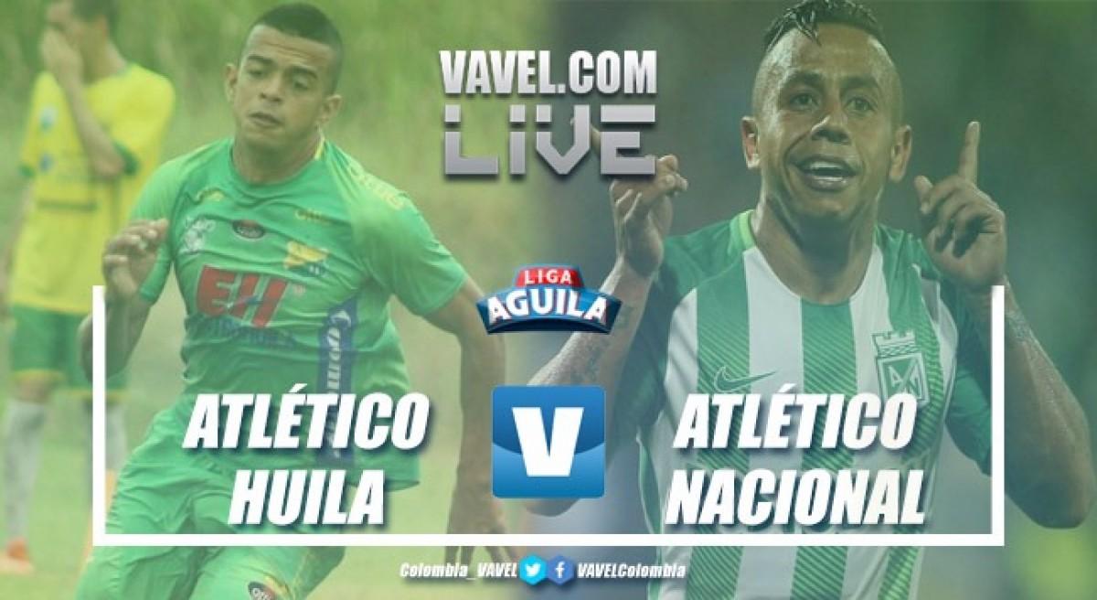 Resumen Atlético Huila vs Atlético Nacional semifinales de la Liga Águila 2018-I (0-0)