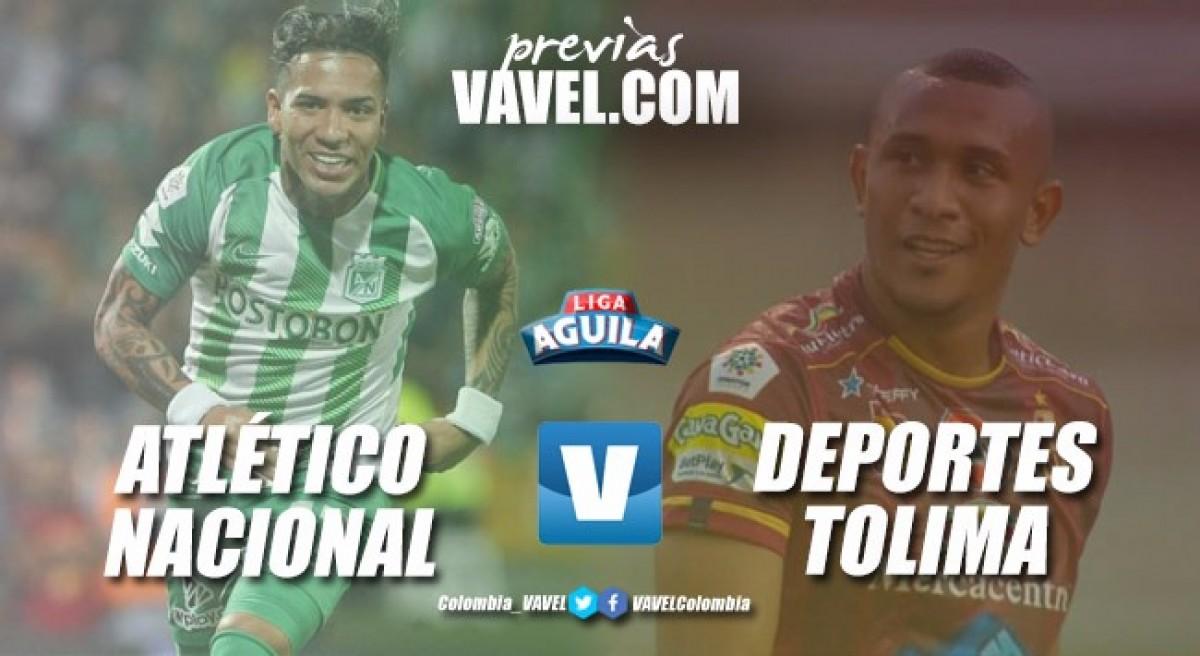 Previa Atlético Nacional vs Deportes Tolima: A 90 minutos de tener un nuevo campeón