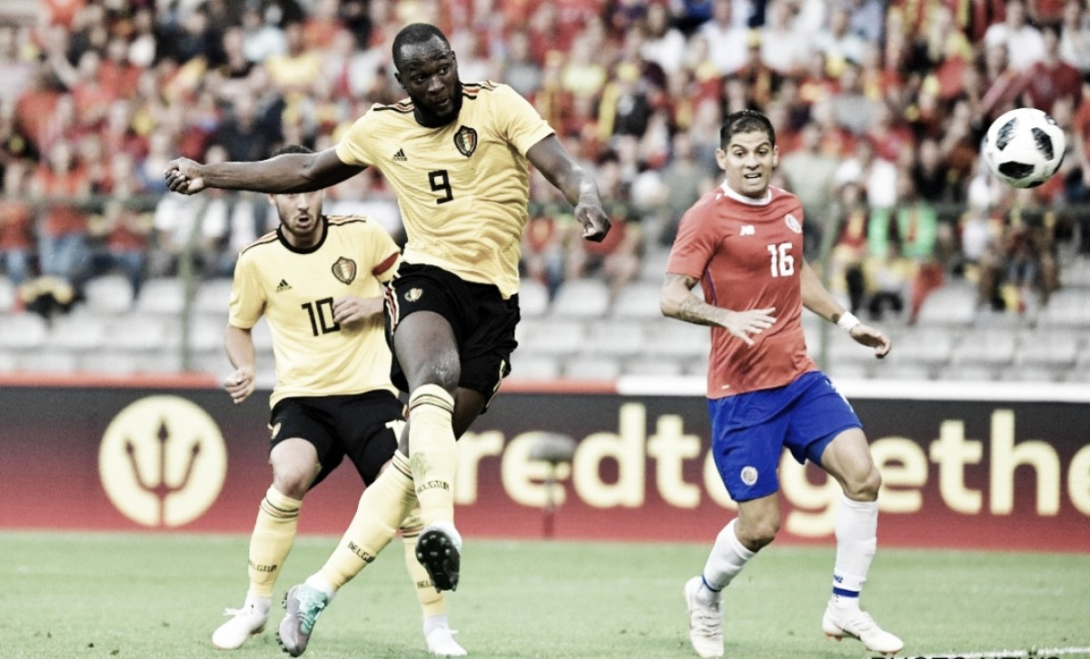 Às vésperas da Copa, Bélgica se despede de sua torcida com goleada sobre Costa Rica