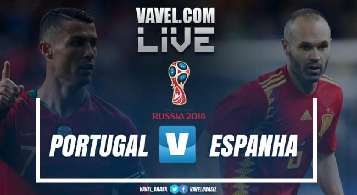 Resultado e gols do jogo Portugal 3x3 Espanha pela Copa do Mundo 2018