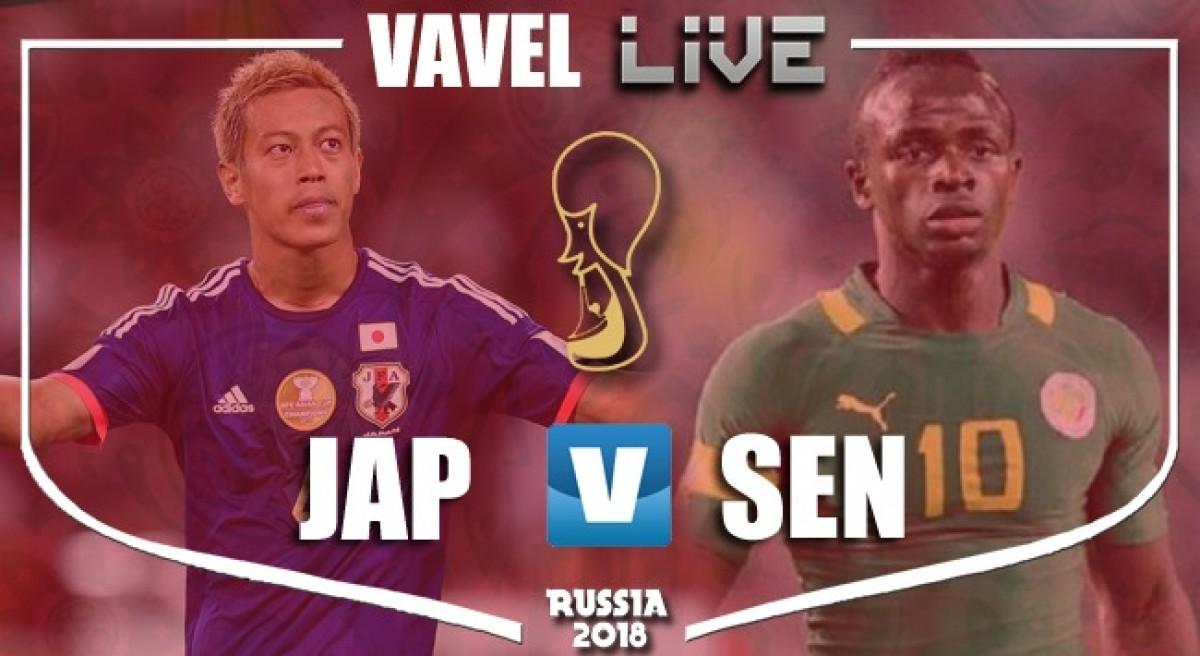 Resultado Japão x Senegal pela Copa do Mundo 2018 (2-2)
