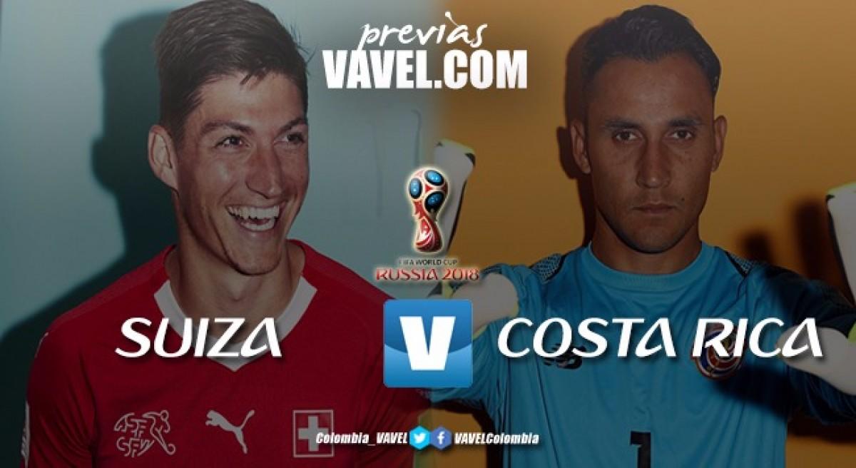 Previa Suiza vs Costa Rica: en busca de la clasificación ante un rival eliminado