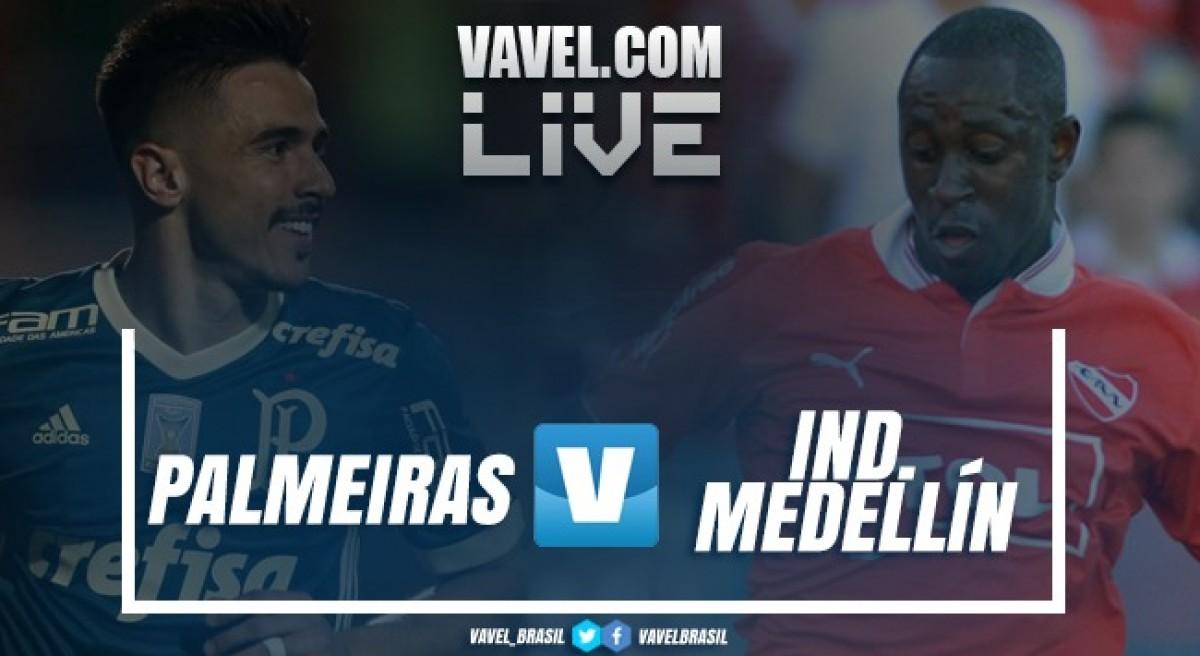 Resultado e gols de Palmeiras x Independiente Medellín pelo quadrangular de Colón (2-0)