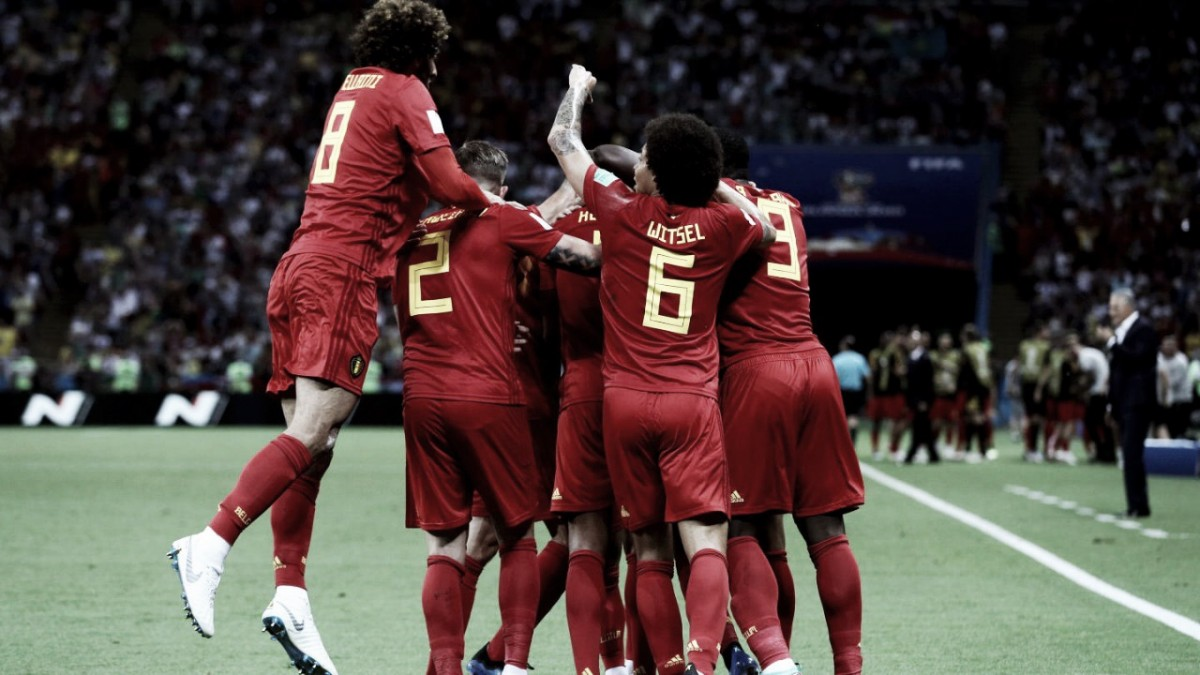 Bélgica vence Brasil e garante inédita vaga nas semifinais da Copa do Mundo