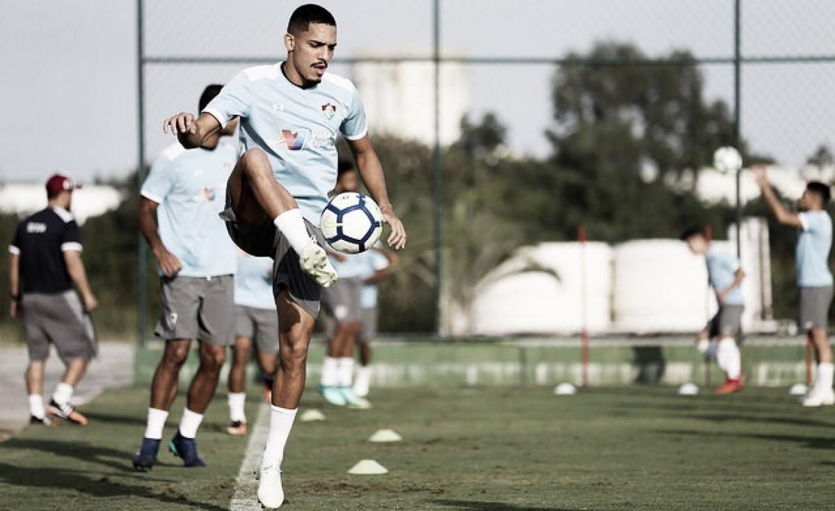 """Novo esquema tático do Fluminense anima Gilberto: """"Vamos voltar mais fortes"""""""