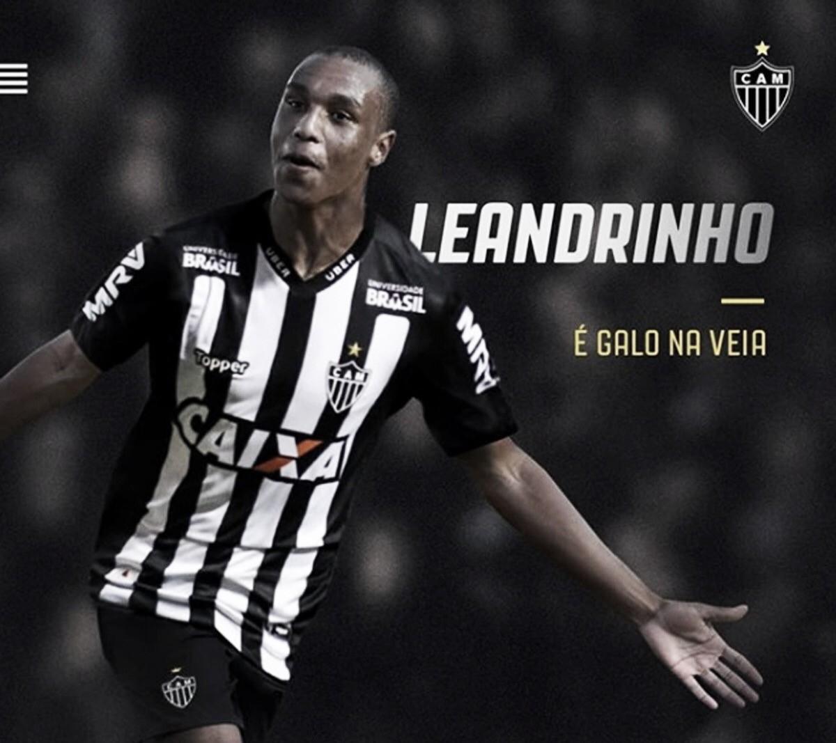 Atlético-MG oficializa contratação do atacante Leandrinho junto ao Napoli