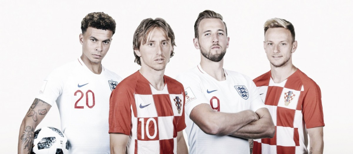 O que esperar do confronto entre Croácia x Inglaterra