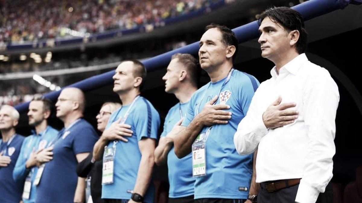 """Dalic usa slogan para exaltar seleção da Croácia: """"Pequeno país, mas grandes sonhos"""""""