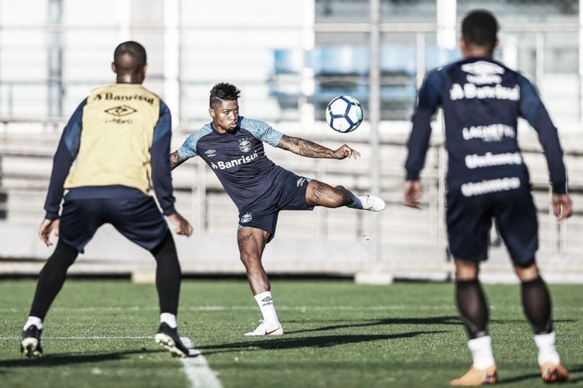 Com nome no BID, Marinho está apto para estrear pelo Grêmio no Campeonato Brasileiro