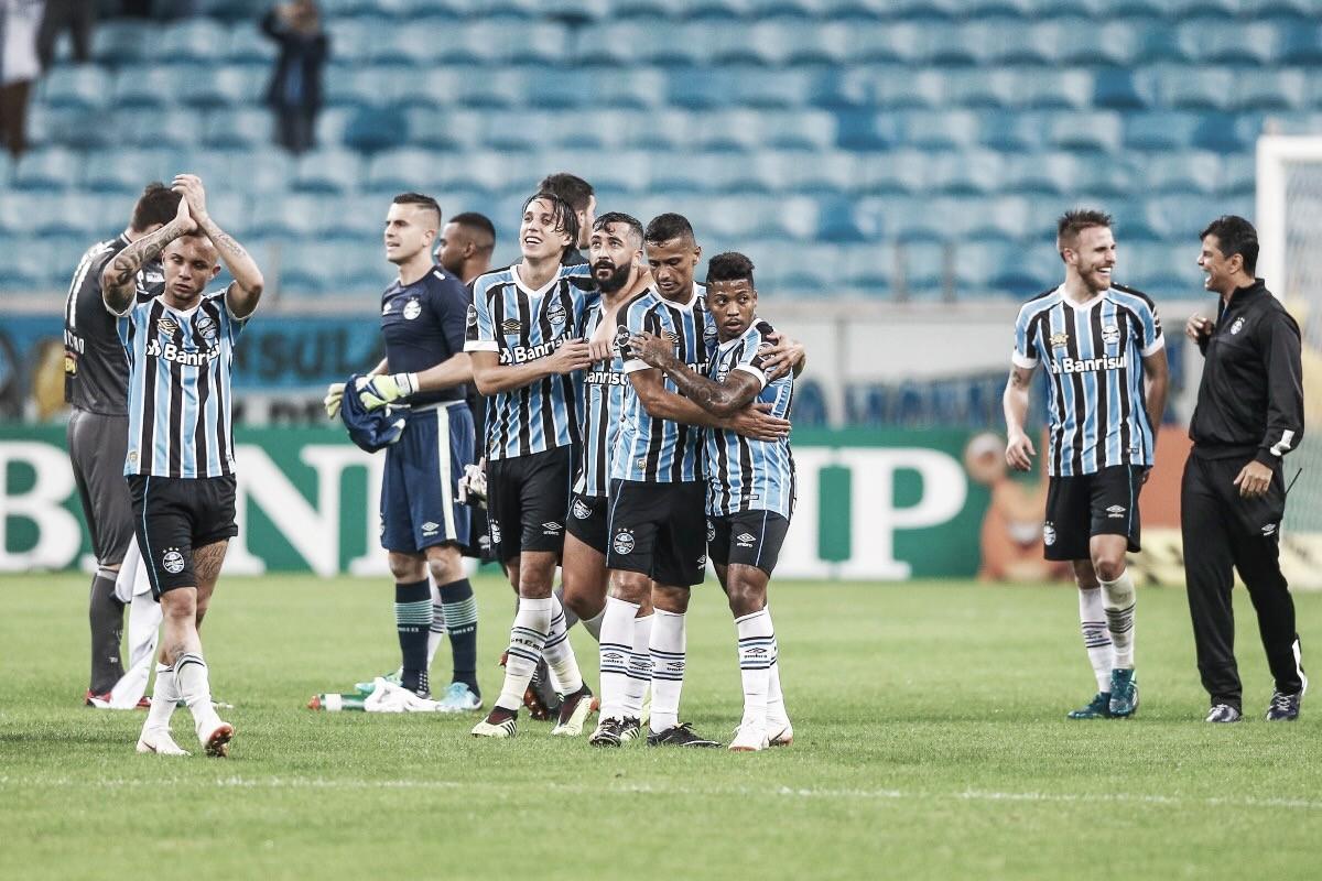 Grêmio vence Atlético-MG na Arena na volta do Brasileirão