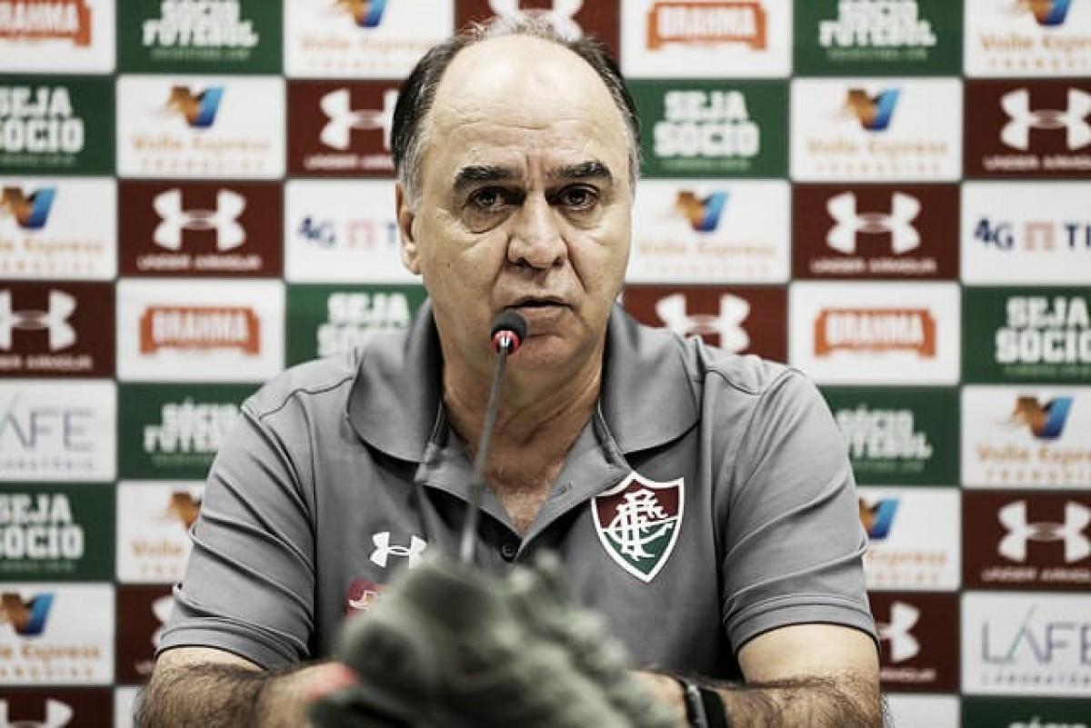 """Marcelo Oliveira exalta resultado sobre o Palmeiras: """"Vitória fundamental"""""""