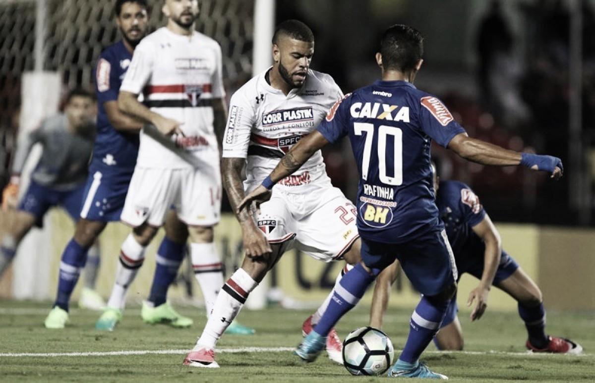 Para se manter no G-6, Cruzeiro recebe vice-líder São Paulo pelo Brasileirão