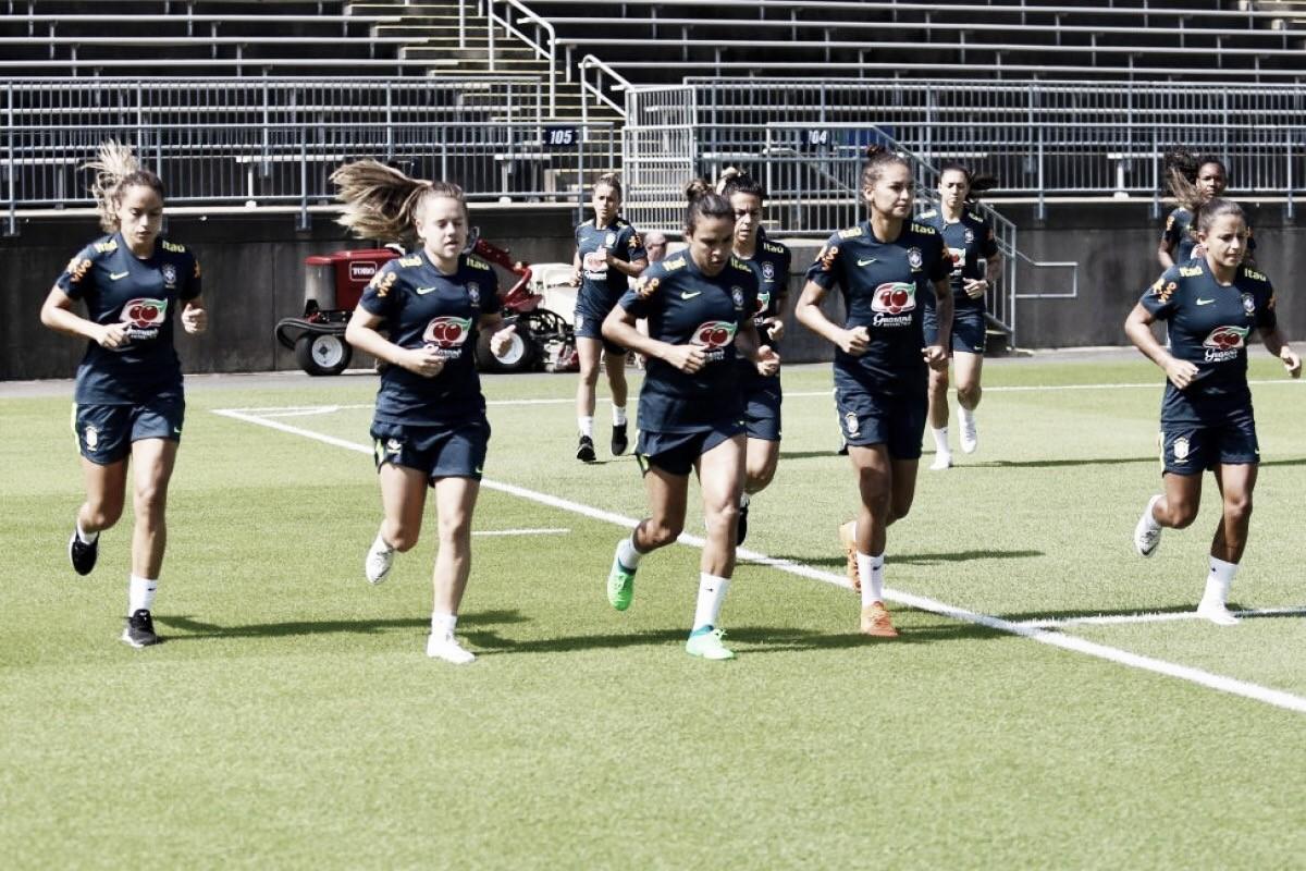 Após tropeço na estreia, Seleção feminina busca recuperação contra Japão pelo Torneio das Nações