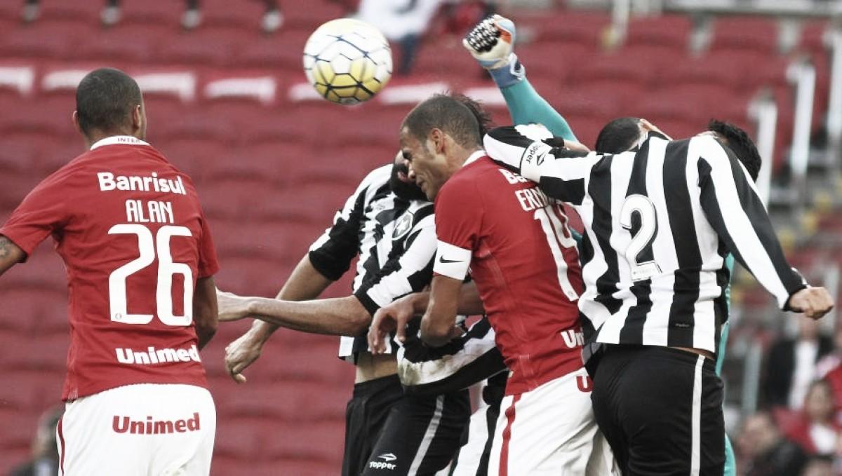 Buscando colar nos líderes, Internacional recebe motivado Botafogo pelo Brasileiro