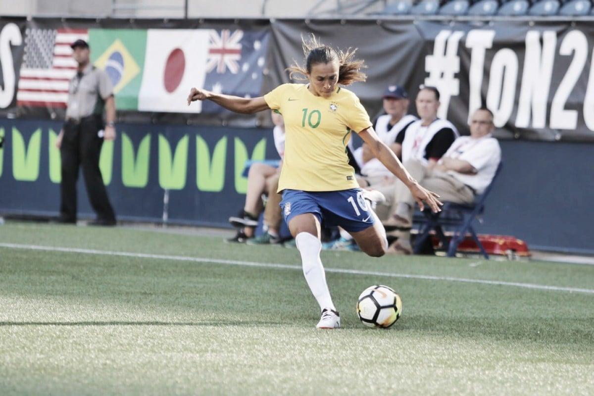 Resultado Japão 1 x 2 Brasil pelo Torneio Feminino das Nações 2018