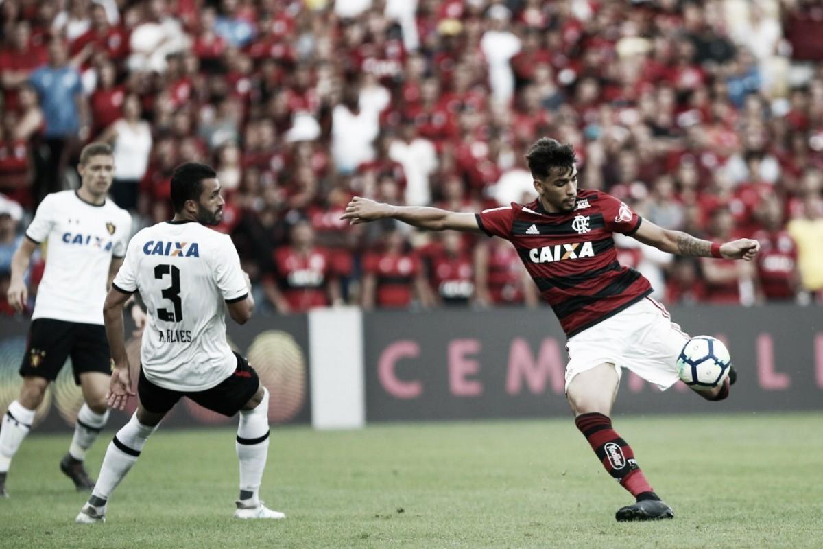 Em segundo tempo arrasador, Flamengo goleia Sport e segue líder do Brasileirão