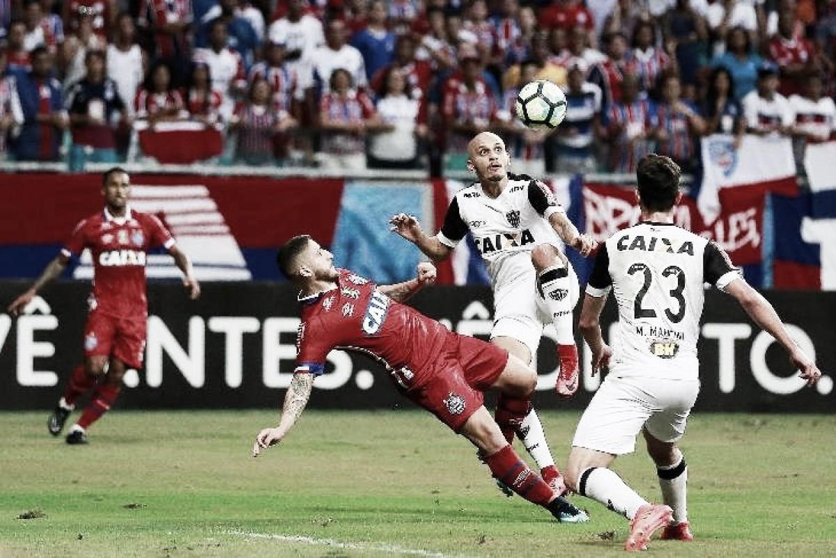 Bahia recebe Atlético-MG para continuar subindo na tabela do Brasileirão