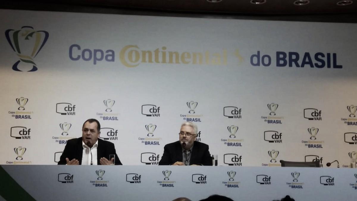 CBF apresenta protocolo do VAR para partidas das quartas de final da Copa do Brasil