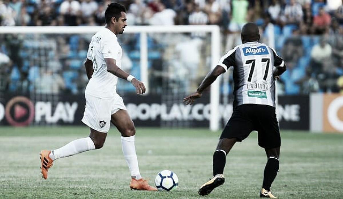 Com edema na coxa, Júnior Dutra é dúvida para partida do Fluminense na Sul-Americana