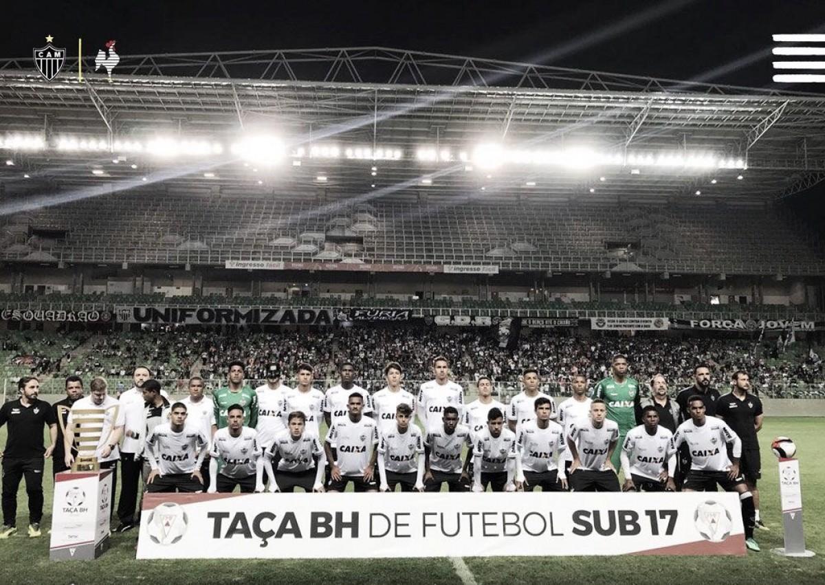 Fluminense sai na frente, mas Atlético-MG vira partida e se sagra hexacampeão da Taça BH Sub-17