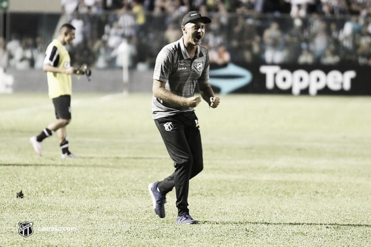 Com mudanças, Lisca prepara Ceará para jogo contra Paraná pelo Campeonato Brasileiro
